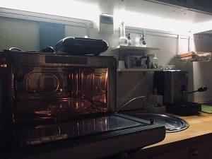 forno a microonde servizi loft