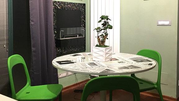 Zona soggiorno Maison de Fuecopared