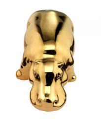 ippopotamo oro crestani ceramiche